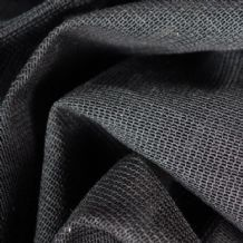 Black Sharkstooth Gauze (per metre) MINIMUM QTY x4